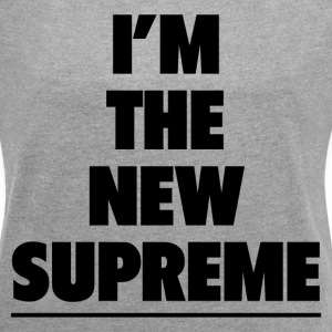 THE NEW SUPREME T-Shirts - Women´s Rolled Sleeve Boxy T-Shirt