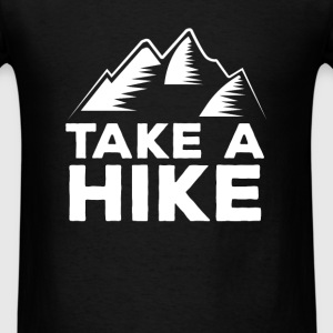Hiking - Take a hike - Men's T-Shirt