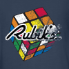 Rubik's Cube Distressed and Faded - Kids' Premium Long Sleeve T-Shirt