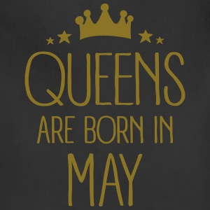 Queens Are Born In May Aprons - Adjustable Apron