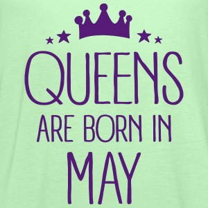 Queens Are Born In May Tanks - Women's Flowy Tank Top by Bella