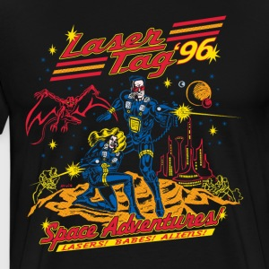 Laser Tag '96 Retro T-shirt - Men's Premium T-Shirt