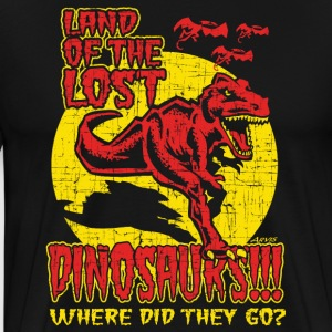 Land of the Lost Dinosaurs!!! Vintage Tee! - Men's Premium T-Shirt