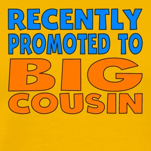 Recently Promoted To Big Cousin - Men's Premium T-Shirt