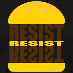 BURGERRESIST - Men's Premium T-Shirt