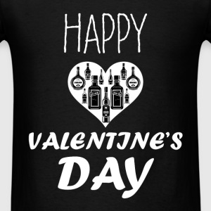 St. Valentine - Happy Valentine's day - Men's T-Shirt