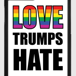 LOVE TRUMPS HATE! Accessories - iPhone 7 Plus Rubber Case