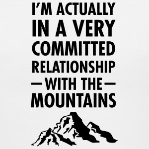 Relationship With The Mountains T-Shirts - Women's V-Neck T-Shirt