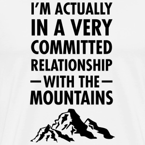Relationship With The Mountains T-Shirts - Men's Premium T-Shirt