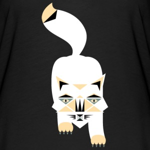 Cute Comic Cat T-Shirts - Women's Flowy T-Shirt