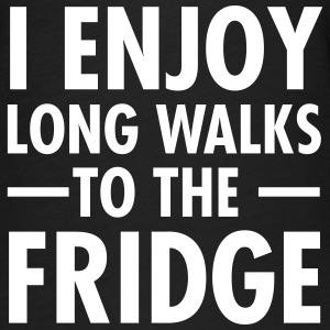 I Enjoy Long Walks To The Fridge T-Shirts - Women's Flowy T-Shirt