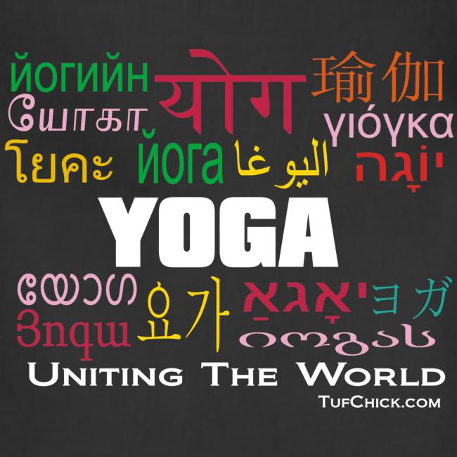 Yoga - Uniting The World Apron