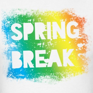 Spring Break Rainbow Colors - Men's T-Shirt