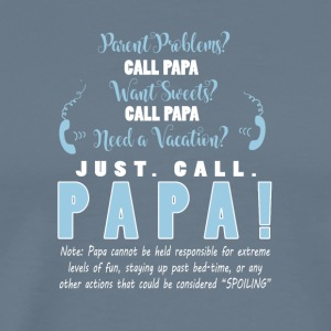 Just Call Papa Father's Day T Shirt - Men's Premium T-Shirt