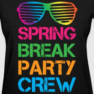 Spring Break Party Crew - Women's T-Shirt