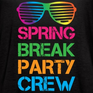 Spring Break Party Crew - Women's Flowy Tank Top by Bella
