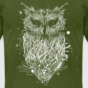 A mysterious owl T-Shirts - Men's T-Shirt by American Apparel