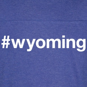WYOMING - Vintage Sport T-Shirt