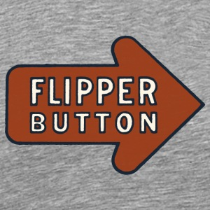 Pinball Flipper Button T-Shirt - Men's Premium T-Shirt