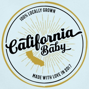 California Baby 2017 - Short Sleeve Baby Bodysuit