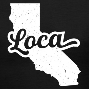 Loca California - Women's V-Neck T-Shirt