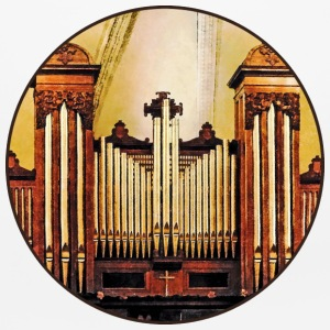 Church Organ Other - Mouse pad Horizontal