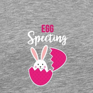 Easter egg specting baby pregnancy tshirt - Men's Premium T-Shirt