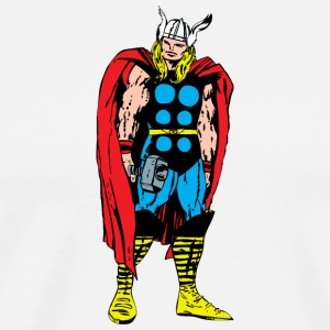 80's Style Marvel Comics Thor (Colored) - Men's Premium T-Shirt
