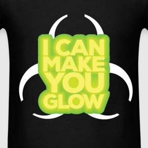 Radiation Therapist - I can make you glow - Men's T-Shirt