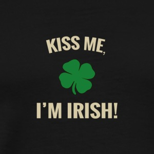 Kiss Me, I'm Irish Kids Apparel - Men's Premium T-Shirt