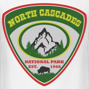 north cascades 1989.png T-Shirts - Men's T-Shirt