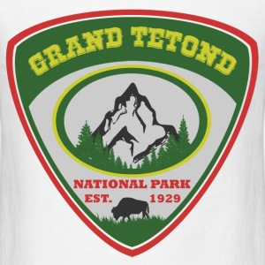 grand tetond 1929.png T-Shirts - Men's T-Shirt