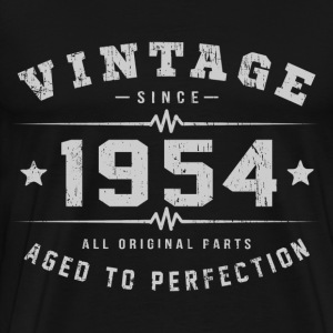Vintage 1954 Aged To Perfection T-Shirts - Men's Premium T-Shirt