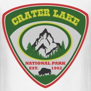 crater lake 1902.png T-Shirts - Men's T-Shirt