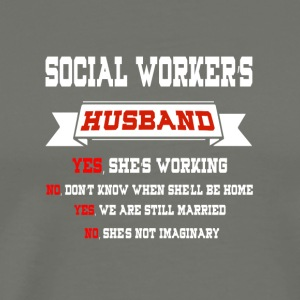 Social Worker's Husband T Shirt - Men's Premium T-Shirt