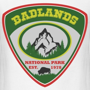 badlands 88.png T-Shirts - Men's T-Shirt