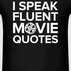 I Speak Movie - Men's T-Shirt