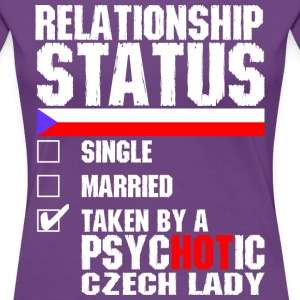 Psychotic Czech Lady T-Shirts - Women's Premium T-Shirt