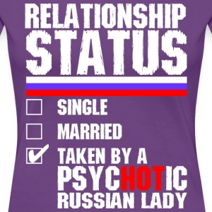 Psychotic Russian Lady T-Shirts - Women's Premium T-Shirt