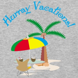Hurray, vacation T-Shirts - Baseball T-Shirt