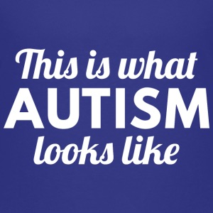 Autism Looks Like - Kids' Premium T-Shirt