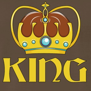 KING CROWN - Men's Premium T-Shirt