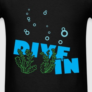 Scuba diving - Dive in - Men's T-Shirt