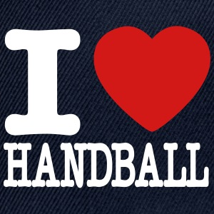 i love handball heart Sportswear - Snap-back Baseball Cap
