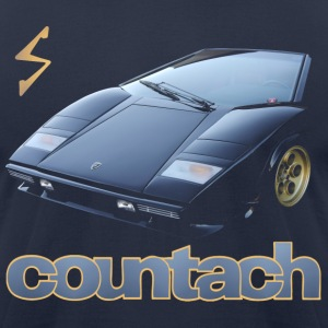 countach T-Shirts - Men's T-Shirt by American Apparel