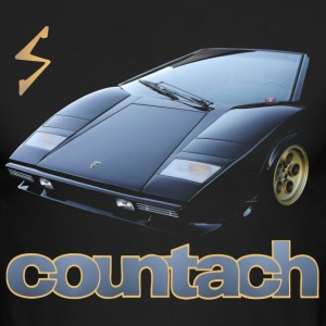 countach Long Sleeve Shirts - Men's Long Sleeve T-Shirt by Next Level