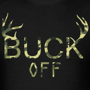 Camo Buck Off - Men's T-Shirt