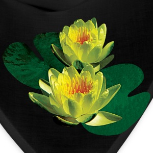 Two Yellow Water Lilies Caps - Bandana