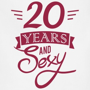 20 years and sexy Aprons - Adjustable Apron