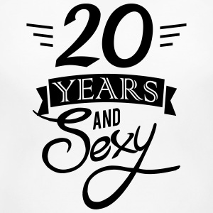 20 years and sexy T-Shirts - Women's Maternity T-Shirt